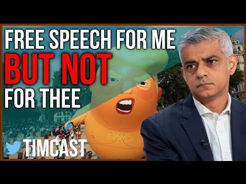 London Supports Free Speech Only When It Mocks Trump