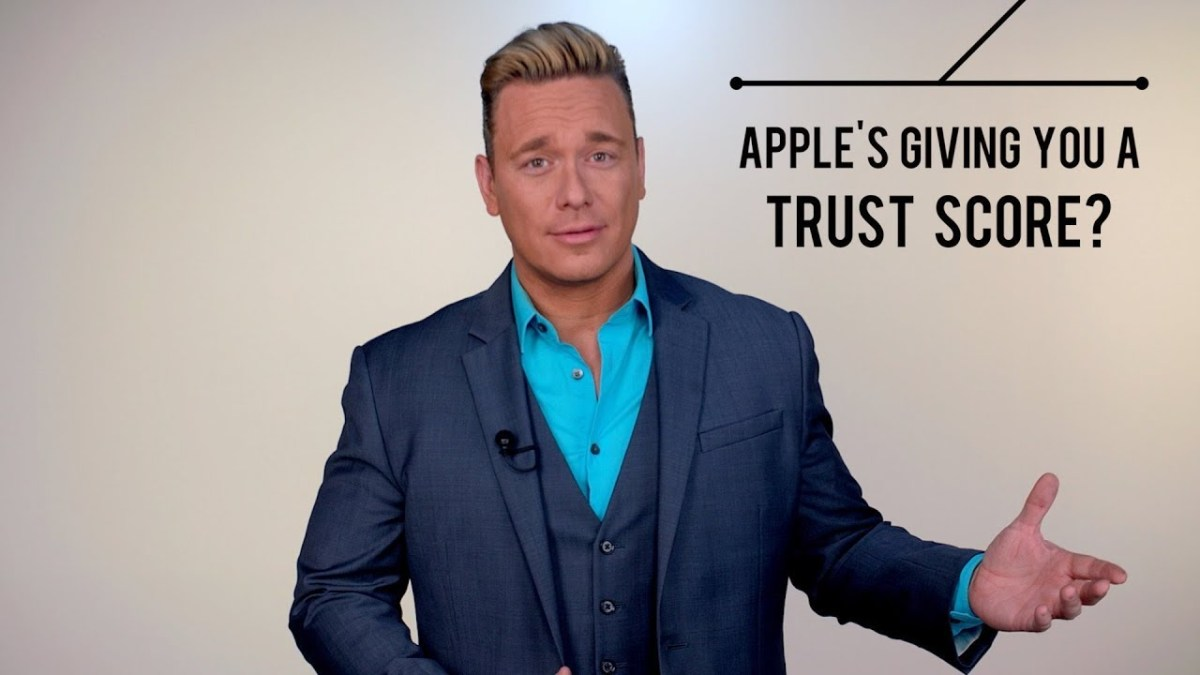 Apple's Giving You A Trust Score?