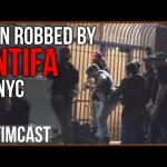 Antifa Beat and Robbed Man Leaving Gavin McInnes Event