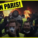 On The Streets Of Paris As They Erupted!