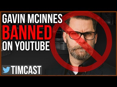 Gavin McInnes BANNED From Youtube, And Now Every Platform (UPDATED)