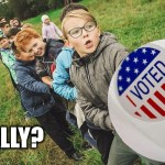 Lower The Voting Age To 16? Abolish Electoral College. Of Course! How Else Can They Win?