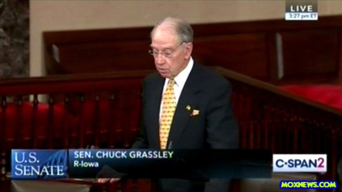 """Jails And Prisons Hold TEN TIMES As Many People With Mental Illness Than Hospitals!"" Sen Grassley"