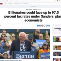 Bernie Would Tax Billionaires At 97.5% And His Plan Makes NO SENSE