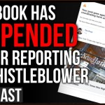 "Facebook Has SUSPENDED Me For Reporting on CIA Whistleblower Calling It ""Crime Activity"""