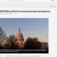 GREAT NEWS Americans Have LOST Almost ALL Faith in Politics And Media