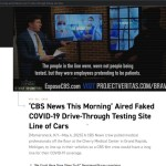 Project Veritas EXPOSES CBS Running Fake COVID News, CBS Admits It Was Fake And REMOVES Segment