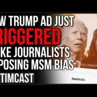 New Trump Ad Just Triggered Woke Journalists Exposing Fake News Bias, He Bought The ENTIRE Frontpage