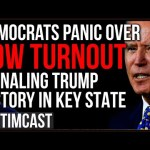 Democrats PANIC Over Low Turnout In Major Democrat Stronghold As Trump Secret Voters STORM The Polls
