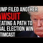 Trump Files ANOTHER Suit Blocking Michigan Results, Media Finally Realizes Trump Can STILL Win This