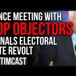 Pence Meeting With GOP Objectors Signals Electoral Vote REVOLT January 6th, Trump Says Its NOT OVER