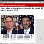 "Texas Lawsuit Now At EIGHTEEN STATES Effectively DEMANDING Trump Reelection, ""Civil War"" Is Trending"