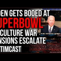 Biden BOOED At Super Bowl As People REJECT Call For Unity, Culture War Is Escalating Under Democrats