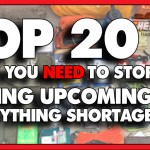 20 Things to Immediately Stock Up on During the Everything Shortage
