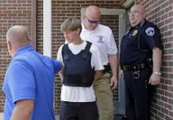 Church Massacre Suspect Held