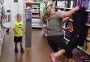 2 Lovely White Women FIGHT in BEECH GROVE, Ind Walmart