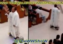 Priest Gets Suspended for using Hoverboard during Christmas Eve Mass