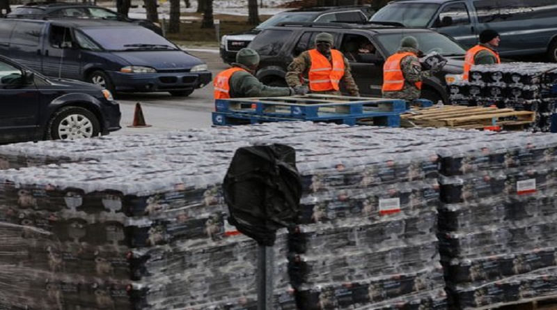 Walmart and others Big Corporations Promise Flint up to 6.5M Bottles of Water