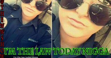 """Police Officer Snapchat Photo """"I'm the law today Ni***a"""" Lost 2 Jobs"""