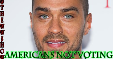 "Jesse Williams ""Americans Say They Not Voting"""
