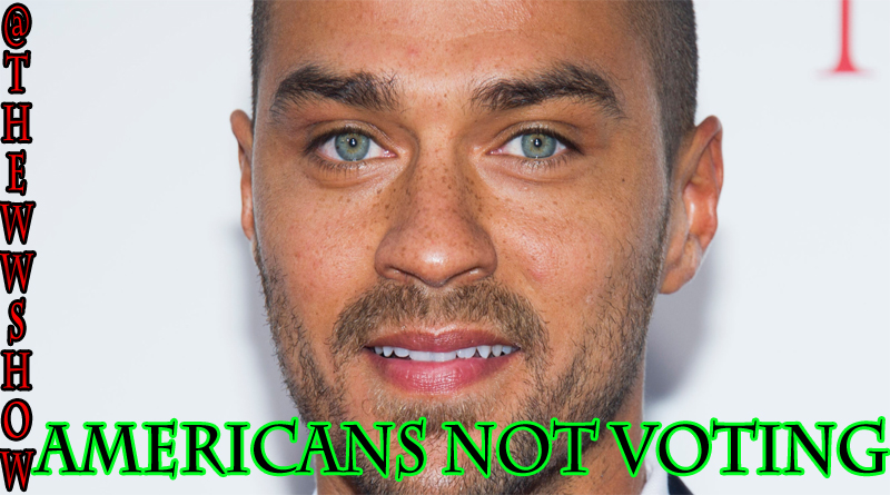 """Jesse Williams """"Americans Say They Not Voting"""""""