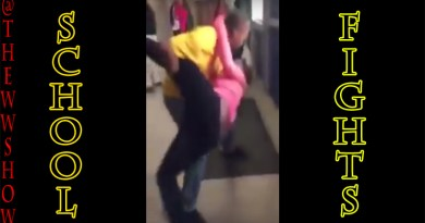Strong Savage Female Teens Fight Teacher in School, So Respectable
