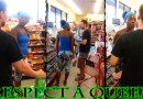 Black Queen Stares Down A White Man in The Store,, is This Racism?