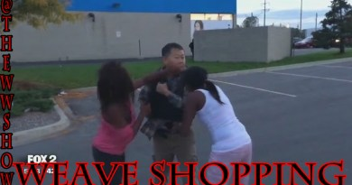 Black Queens Steals $600 Worth Of Weave, I Mean Shopping