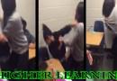 Dark Skin Girl Fights Light Skin Girl In School, This Is So Sad
