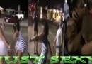 2 Beautiful Thick Sexy Chicks Have At It in The Streets #sisterhood