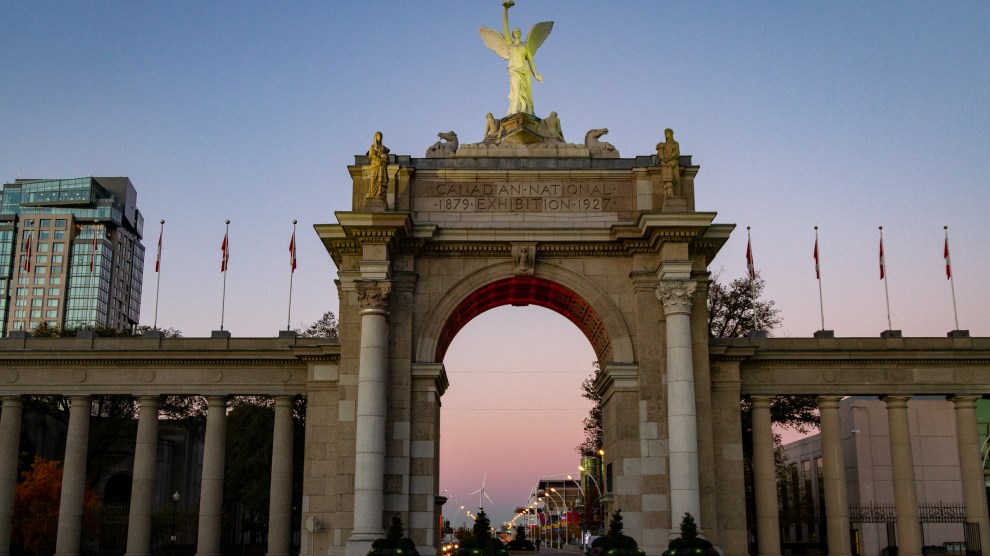 Sunrise at the Princes' Gates