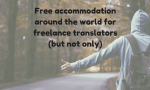 Free accommodation around the world for freelance translators