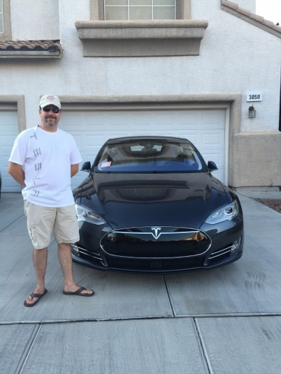 Michael and Tesla Model S 90D
