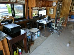 Michael's temporary desk