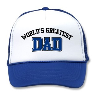 Who has the world's greatest dad?