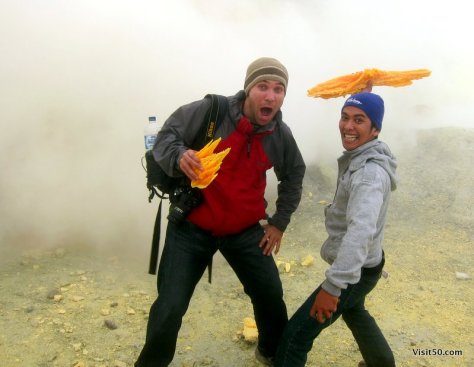 photos from Sulfur Mining at Kawah Ijen volcano in Java, Indonesia | Visit50.com