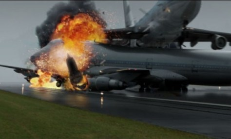 photo - plane crash