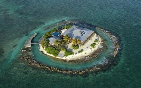 East Sister Rock Island Florida - Visit50.com
