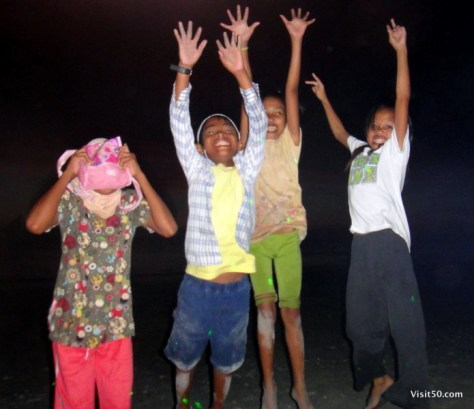 Jumping pics - jumping with kids in the Philippines