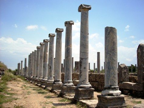 Perge - ruins of Antalya, Turkey