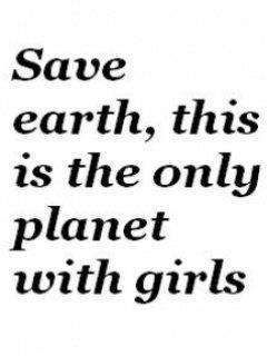cartoon - only planet w girls