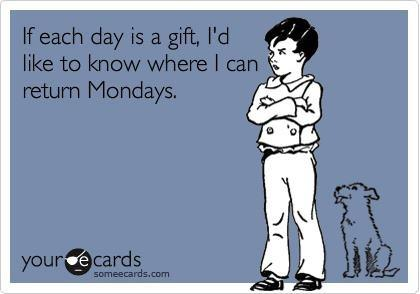 cartoons - Mondays