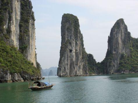 Halong Bay limestone