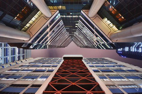 Hong Kong photography - Vertical Horizon of Hong Kong architecture