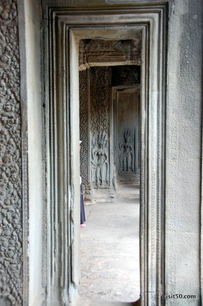 devata at the entrance