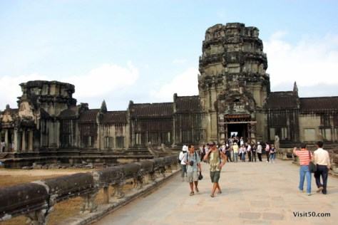 """""""Angkor Wat"""" translates toThe city that is a temple - Visit50.com"""