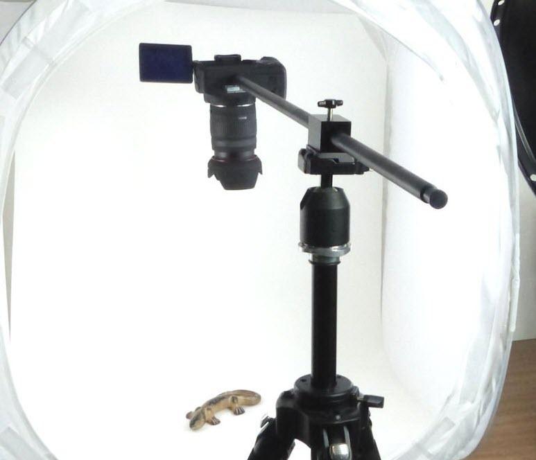 How to setup overhead camera cheap and easy - VlogLikePro com