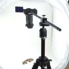 How to setup overhead camera cheap and easy