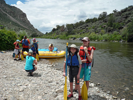 Whitewater rafting on the Rio Grande
