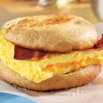 Bacon and Cheese Eggwich